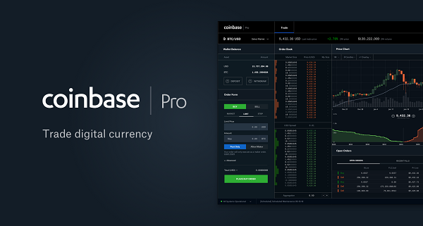 Why Coinbase Pro is a great platform for crypto traders